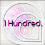 1 Hundred. Logo